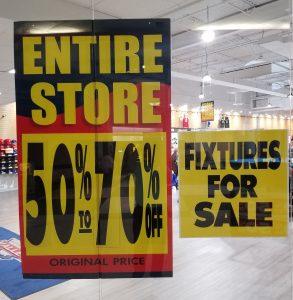 Final Days SV Sports Liquidation Sale