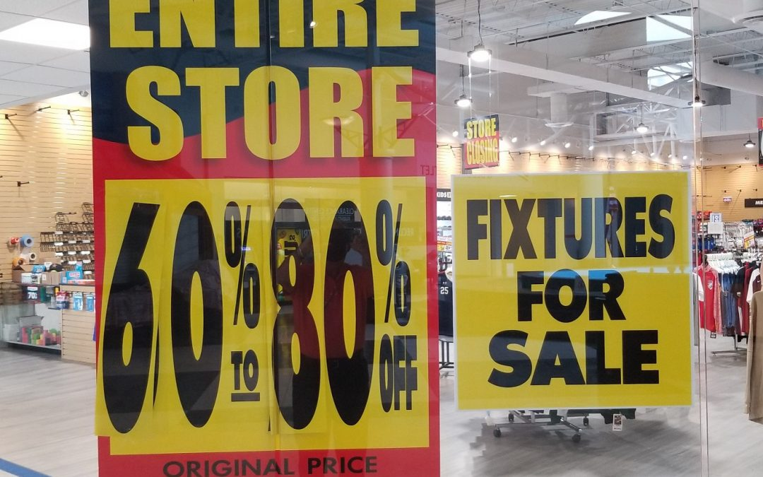Eaton Hudson Completes Inventory Liquidation Sale For Sporting Goods Chain Store Retailer